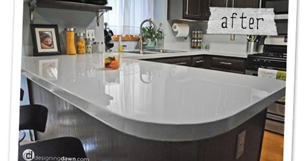 Painted Formica Countertop After2 By Littlejo Kitchen