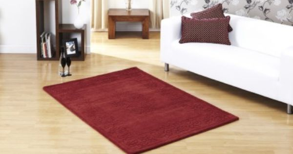Dynasty Red These Beautiful Classically Designed Rugs Are Both Elegant And Luxurious Being Hand Tufted In India From Quality 100 Red Rugs Rugs Home Decor