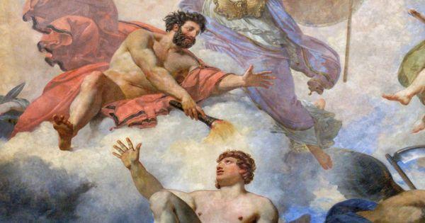 Prometheus Creating Man Jean-Simon Berthelemy ...
