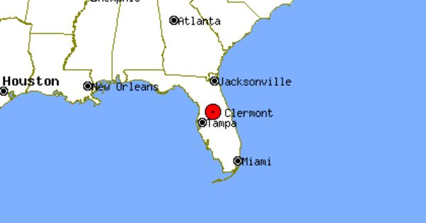 Clermont Profile Clermont Fl Population Crime Map Clermont Map Of Florida Clouds