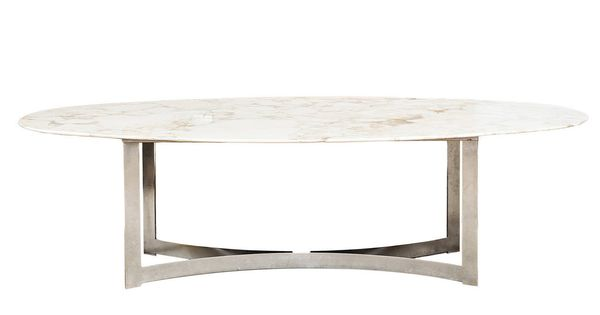 Oval Marble Top Dining Table 1stdibs Com Dining Table Marble Oval Dining Room Table Modern Oval Dining Table