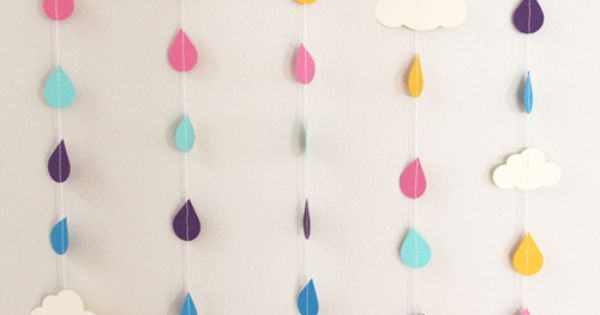 Rain drops for the girl's room
