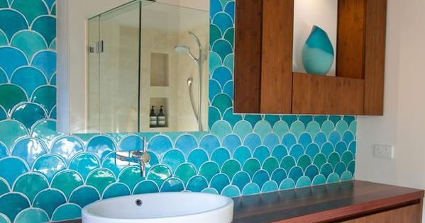 Fish Scale Tile Design, Inspiration