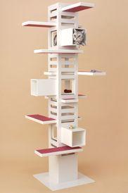Cat Tree Un Meuble De Rangement De Cds A Reconvertir Pet Furniture Cat Towers Cat Furniture