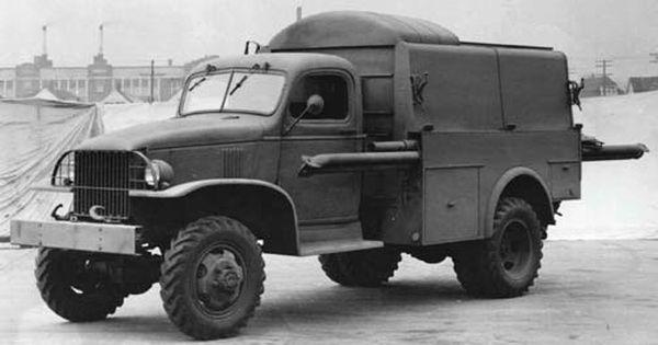 Chevrolet 1 1 2 Ton 4x4 Telephone Truck K43 G7173 Trucks