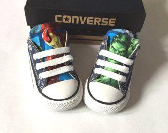 Avengers Marvel Comics Shoes, Converse