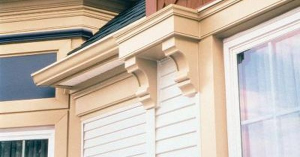 Fypon 4 In X 5 1 4 In X 10 In Polyurethane Corbel Cor5x10 The Home Depot Exterior Corbels How To Install Gutters