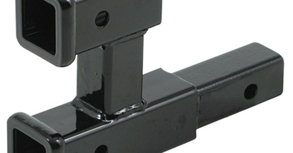 Dual extension towbar hitch receiver. ~~perfect for the bike rack and towing