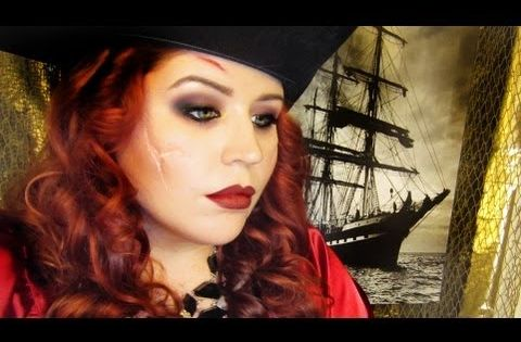 Maquillage pirate femme costume pinterest maquillage pirate femme maquillage pirate et - Maquillage pirate homme ...
