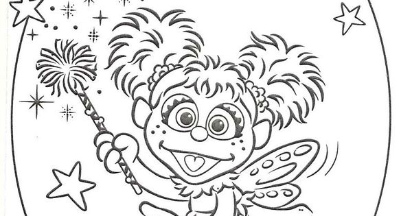 Abby Cadabby And Elmo Coloring Pages