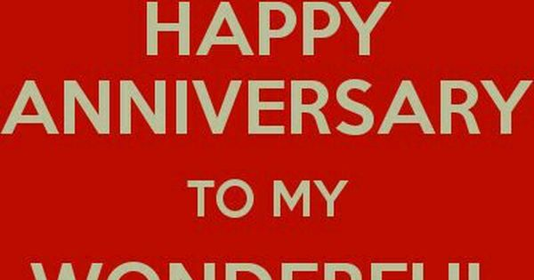 Today s our th wedding anniversary