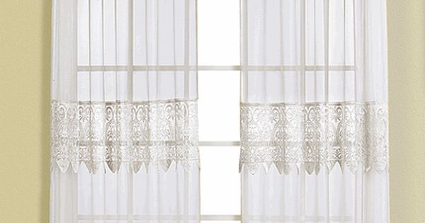 Valerie Curtains Are A Sheer Amp Macram 233 Combination Style