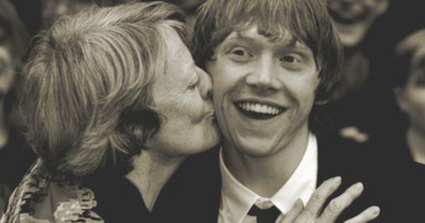 Maggie Smith and Rupert Grint ♥