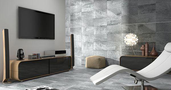 Formatos 27x50 cuarcita estancias salones la piedra en el - Baldosas para salones ...