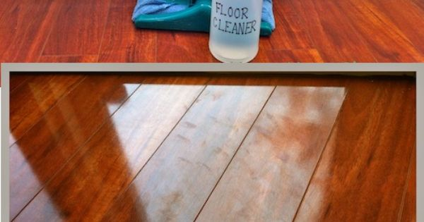 Diy Natural Floor Cleaner Water 1 Cup Vinegar 1 Cup