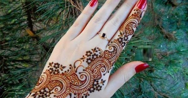 Mehndi Hairstyles Step By Step : Simple arabic mehndi designs step by