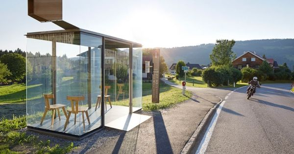 unique austrian bus stops ikea decoration arch pinterest home bus stop and home designing. Black Bedroom Furniture Sets. Home Design Ideas