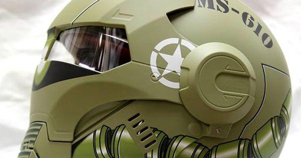 masei un casque moto au look d 39 iron man helmets iron and full face helmets. Black Bedroom Furniture Sets. Home Design Ideas
