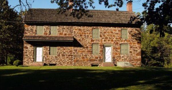 Burrough Dover House 1710 Pennsauken Nj Pre Victorian