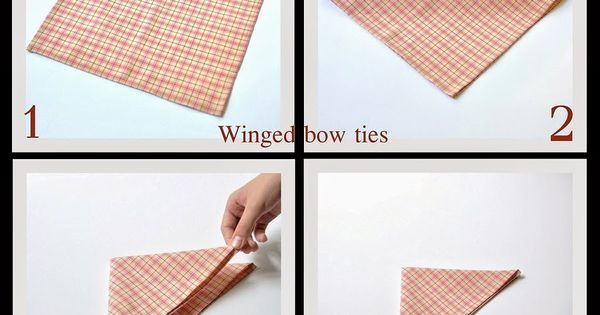 Winged bow ties: TUTORIAL: how to fold a pocket square | FOR MEN ...