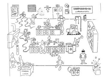 Pin On Middle School Science Lab safety cartoon worksheet