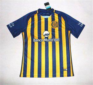 Club Atletico Rosario Central 17-18 Season Home Yellow-Blue Central Shirt  Jersey  J695  d46697b30
