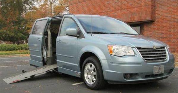Wheelchair Van Van For Sale Chrysler Town Country Vans