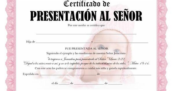 certificados de presentaci u00f3n al se u00f1or para imprimir gratis