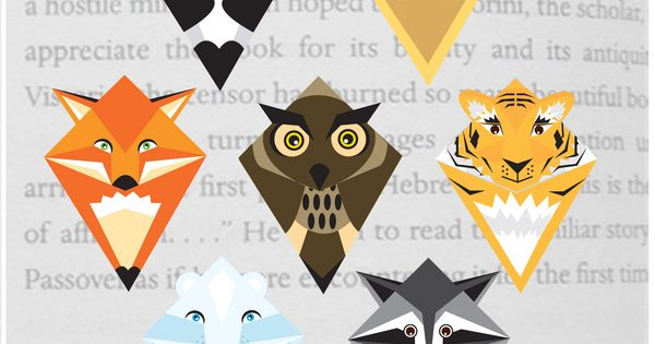 how to make animal corner bookmarks