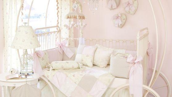 baby girl nursery ideas | Story Time Crib Bedding Set
