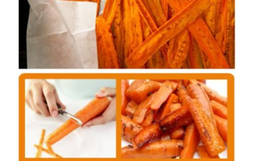 DIY Carrot Fries DIY cooking better health naturally health care health tips