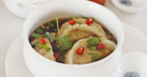 My Diverse Kitchen: Tibetan Style Momos (Dumplings) In A Gingery Broth &