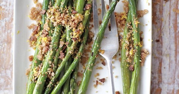 Breadcrumbs and Lemon Zest | Recipe | Asparagus, Lemon and Bread