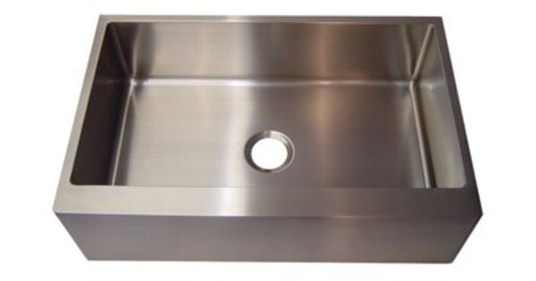 ... Steel Apron Front Sink Kitchen Pinterest Canada, Steel and Sinks