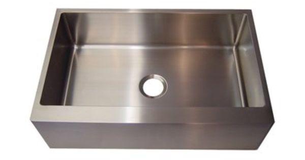 ... Steel Apron Front Sink Kitchen Pinterest Canada, Steel and Sinks