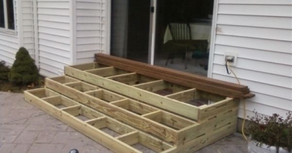 Best Wooden Patio Steps Porch Stairs Outdoor Ideas 640 x 480