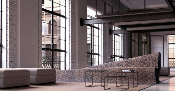 italienische designermöbel alessandro isola stumble upon sofa ... - Italienische Designer Mobel