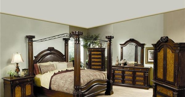 201201set montecito chestnut wood upholstered accents for Bedroom furniture in zanesville ohio