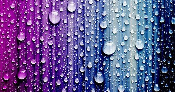 Raindrops | Color | Pinterest | Purple, Rain and Wallpaper