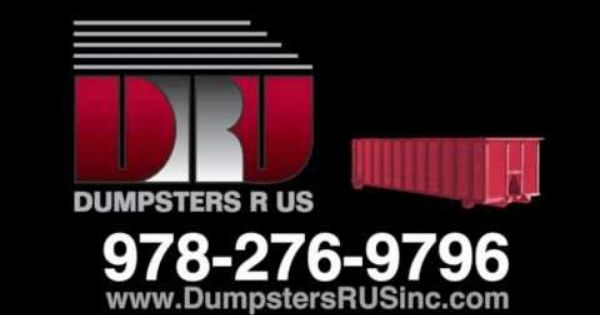 Call 978 276 9796 For Dumpster Delivery To Massachusetts Southern New Hampshire 30 Yard Open Top Dumpster Rental Roll Off Dumpster Rent A Dumpster