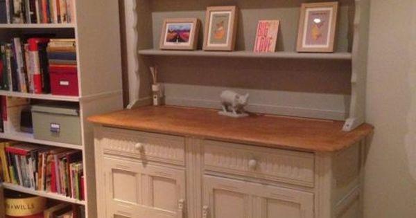 Annie Sloan Paris Grey Welsh Dresser Cabinet Belmont Belfast On Gumtree This Is A Beautiful