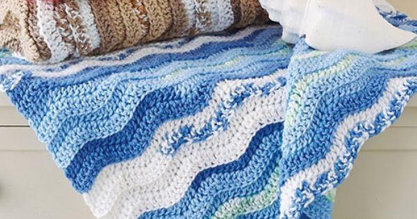Crochet This Cute Baby Blankie Using Mary Maxim S Self