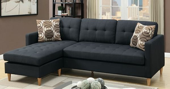 Addison Designer Style Apartment Size Sofa With Reversible