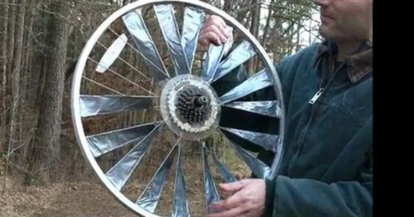 How To Build Wind Turbine Blades Using Duct Tape
