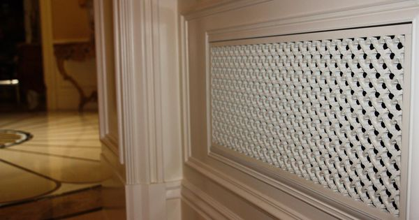 Eco-friendly Resin Decorative Wall And Ceiling Vent Covers