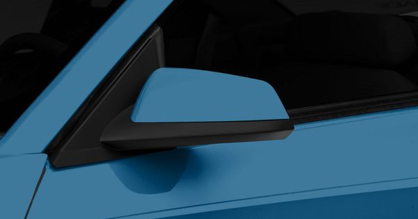Mmd Mustang Mirrors Pre Painted 102259 99 04 All Retro Mirror New Edge Mustang Mirror