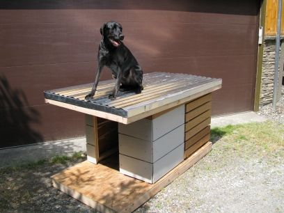 Prefab Dog House Featured On Apartmenttherapy Com Dog House Small Dog House Outdoor Dog House