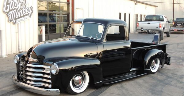 Absolutely Gorgeous 1949 By Gas Monkey Garage Gas Monkey Garage Gas Monkey Classic Chevy Trucks