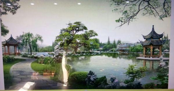 Wallpaper Custom Printing Dinding Aneka Motif Terbaru Chinese Landscape Japan Landscape Landscape Wallpaper Chinese animated wallpaper hd
