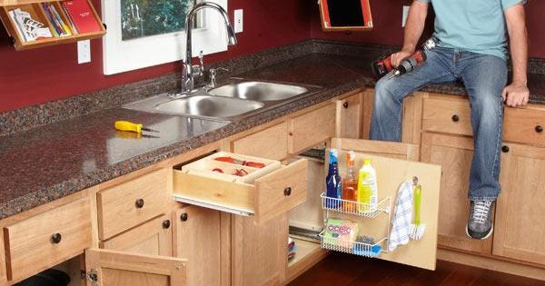 Home Design Ideas Pictures: 10 Kitchen Cabinet & Drawer Organizers You Can Build